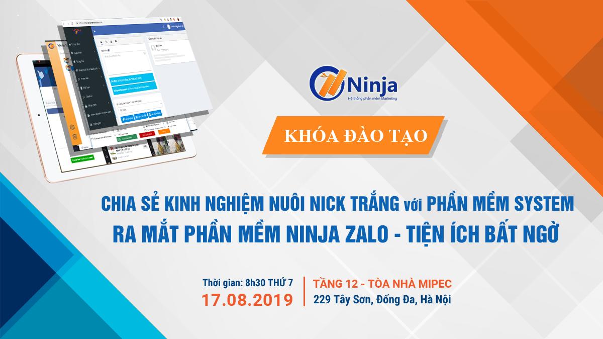 baner off t8 Thư mời tham dự Offline đào tạo phần mềm Ninja System và Lễ ra mắt Phần mềm Ninja Zalo