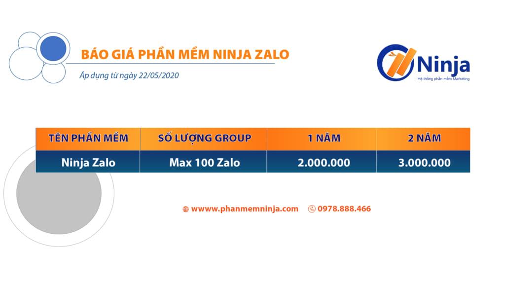 bao gia ninja zalo.vi 1024x576 Ninja Zalo Phần mềm bán hàng Zalo siêu tiện ích, chuyên nghiệp tự động