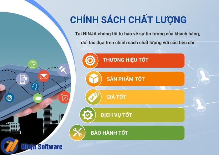 chinh sach 1 Giới thiệu Công ty Phần mềm Ninja