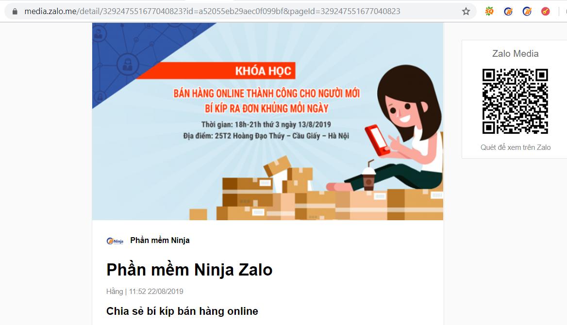 dang bai tu dong4 Hướng dẫn đăng bài lên zalo tự động bằng phần mềm auto zalo Ninja Zalo