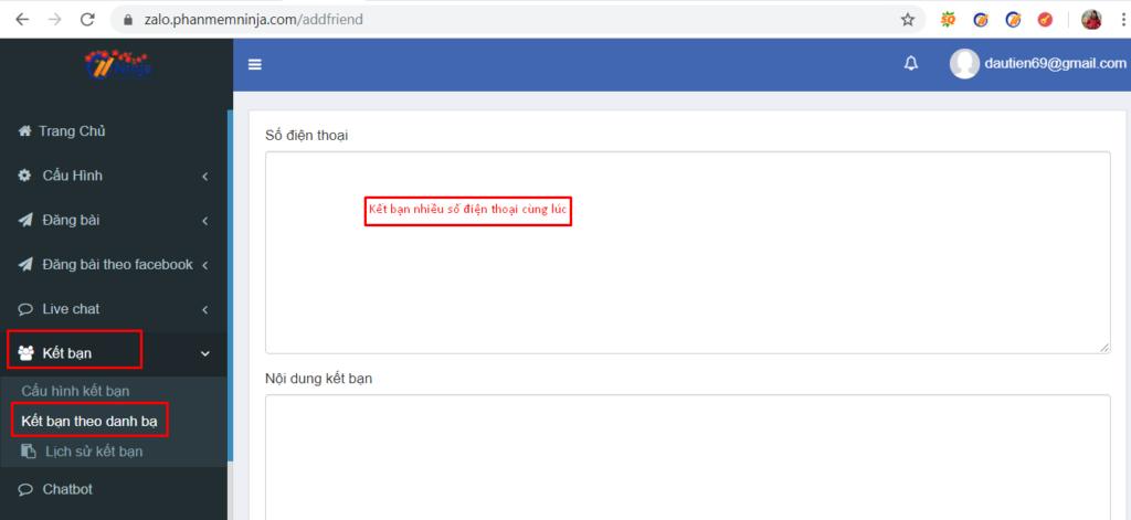 phan mem ban hang zalo1 1024x471 Ra mắt phần mềm bán hàng zalo Ninja Zalo nhiều tiện ích bất ngờ