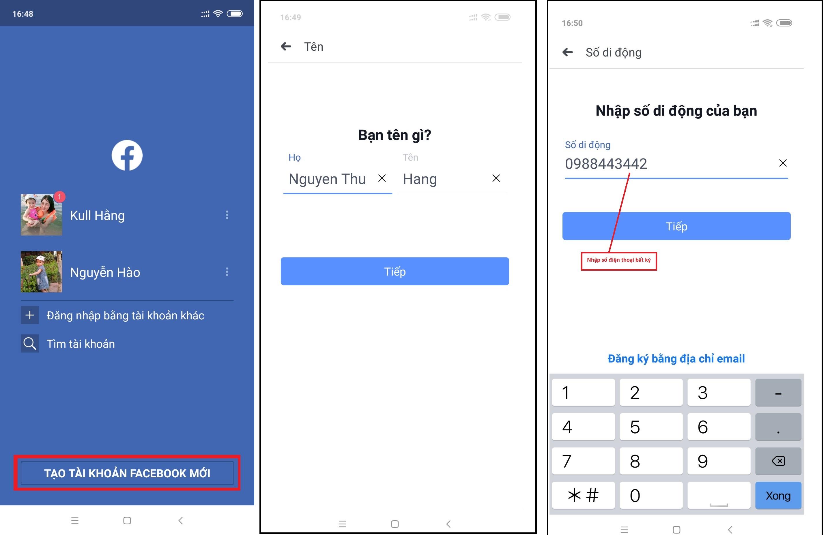 tao tai khoan fb Hướng dẫn tạo nick facebook bằng mail bí danh yahoo