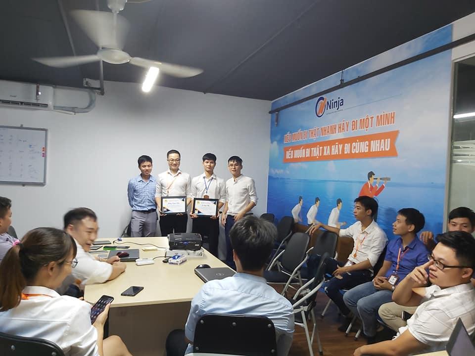 vinh danh bestseller Công ty Phần mềm Ninja vinh danh BestSeller Tháng 7