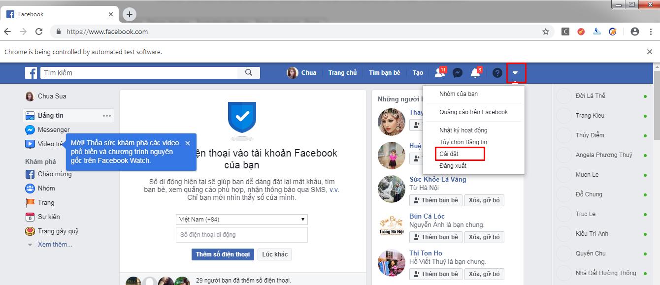 2 Hướng dẫn cài đặt và lấy mã Google Authenticator hạn chế checkpoint cho tài khoản facebook