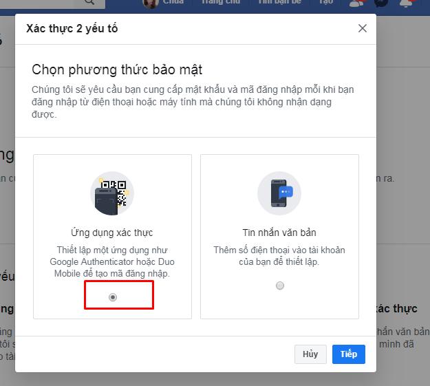 6 1 Hướng dẫn cài đặt và lấy mã Google Authenticator hạn chế checkpoint cho tài khoản facebook
