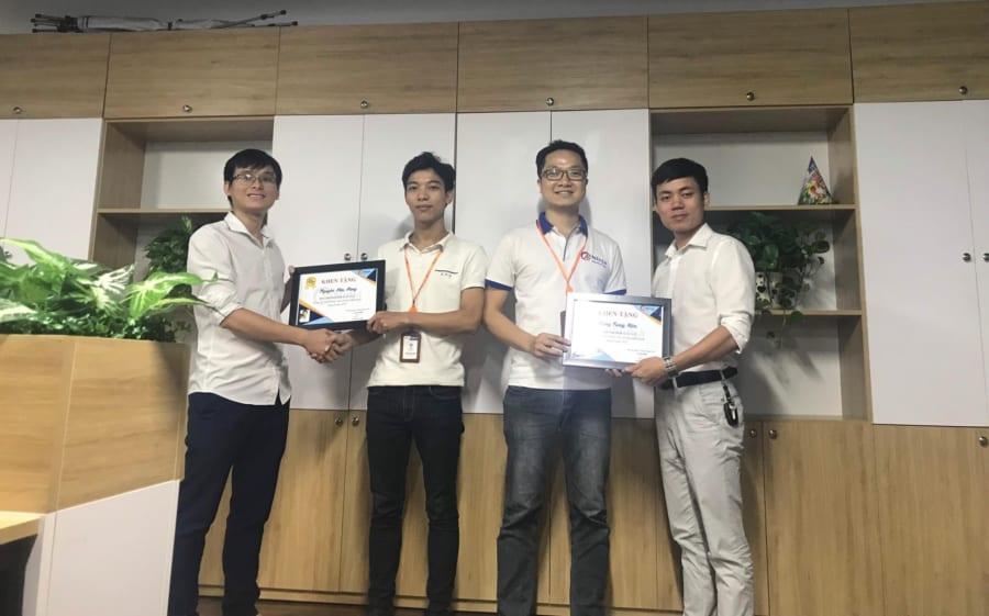 bestt8 e1568370849168 Phần mềm Ninja trao giải Nhân viên xuất sắc tháng 8