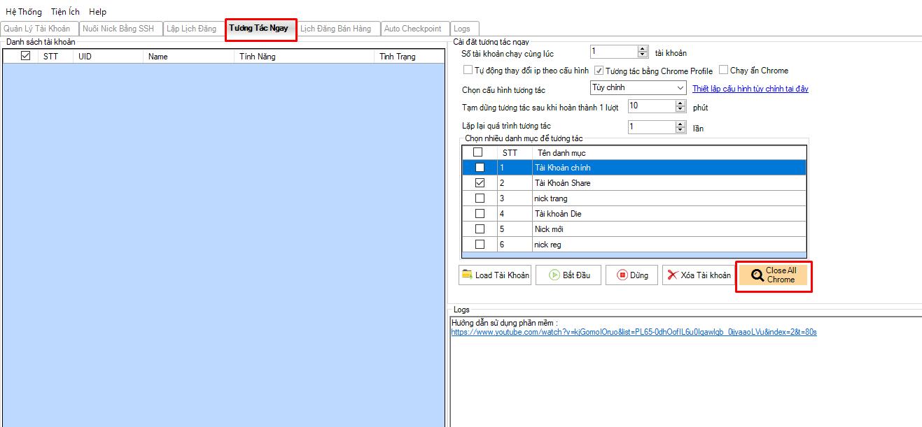 cap nhat chrome driver4 Cách khắc phục lỗi không mở trình duyệt trên tool nuôi nick facebook Ninja Care