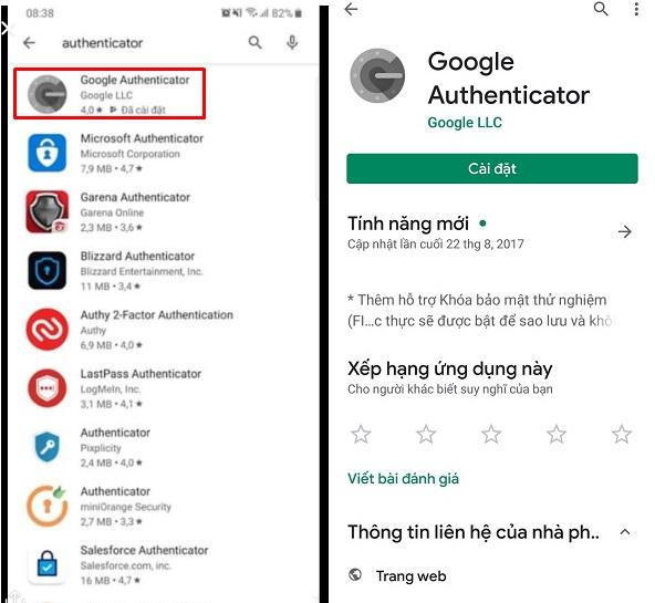 gg 3 Hướng dẫn cài đặt và lấy mã Google Authenticator hạn chế checkpoint cho tài khoản facebook