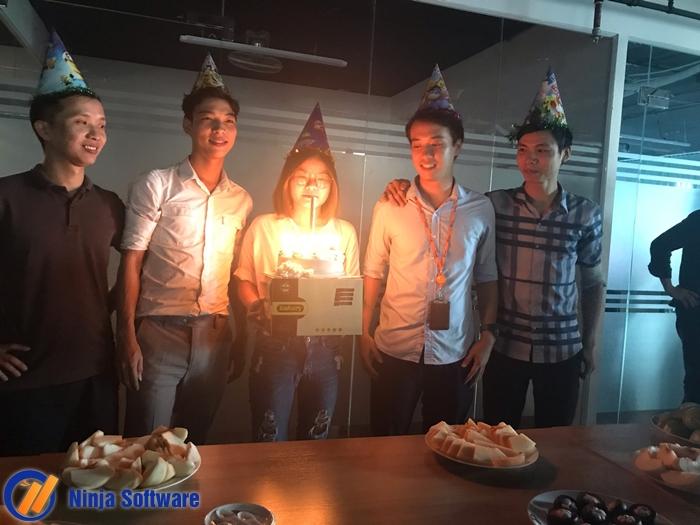 sinh nhat t8a Ninja tổ chức sinh nhật tháng 8 cho CBNV tràn ngập niềm vui