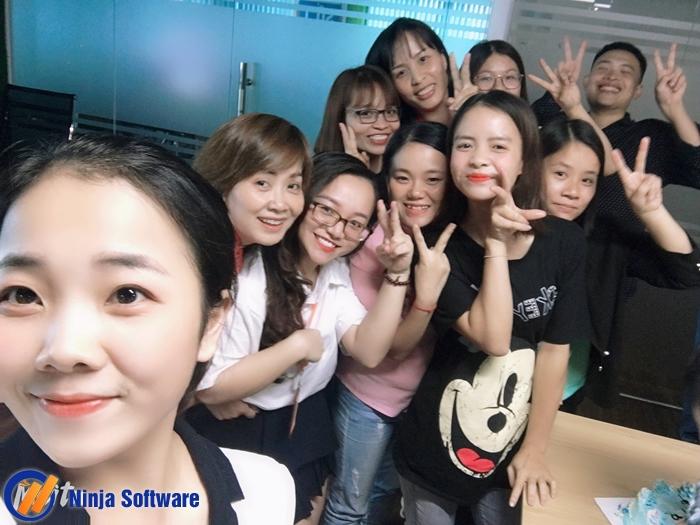 sinh nhat t8c Ninja tổ chức sinh nhật tháng 8 cho CBNV tràn ngập niềm vui