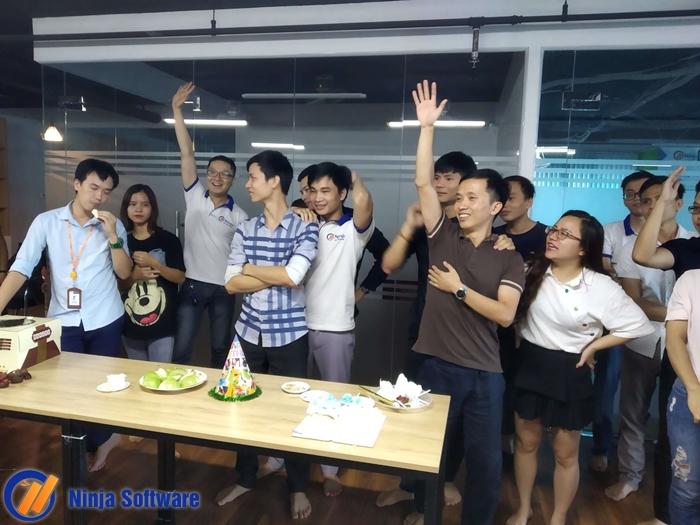 sn thang 8 Ninja tổ chức sinh nhật tháng 8 cho CBNV tràn ngập niềm vui