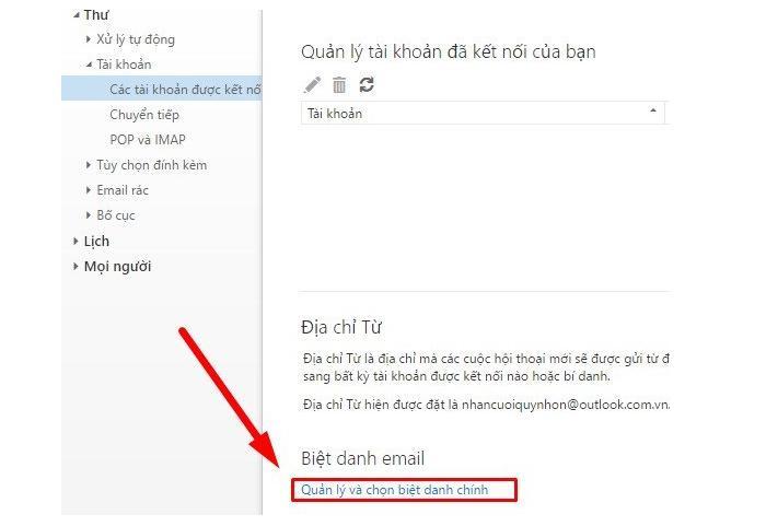taomail bidanh2 4 bước nhanh chóng tạo tài khoản facebook từ Outlook