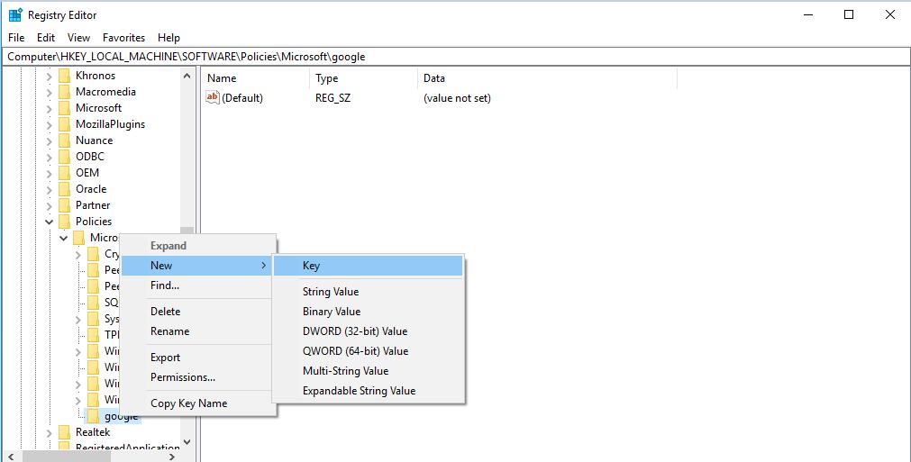 tat tu dong cap nhat1 Hướng dẫn 3 cách tắt tính năng tự cập nhật chrome trong window