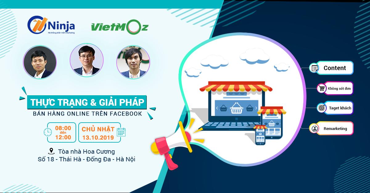 """offline ninja 4 Bùng nổ cùng sự kiện """"Thực trạng và giải pháp bán hàng online trên Facebook"""""""