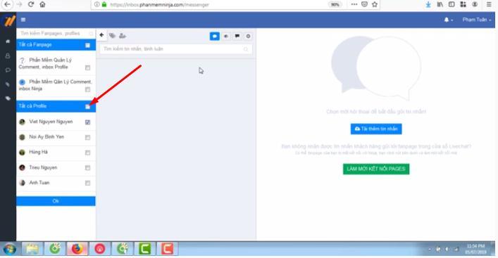 quan ly com ment Hướng dẫn quản lý tin nhắn, comment khách hàng với Ninja Fanpage