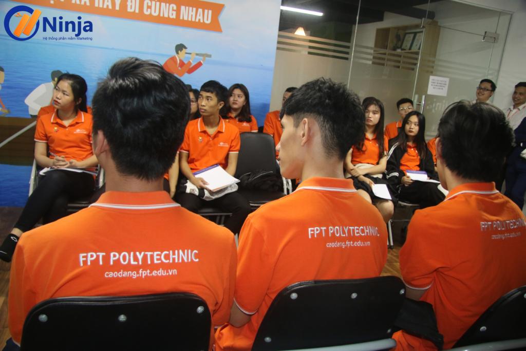 7 1024x683 Phần mềm Ninja chào đón Sinh viên FPT Polytechnic đến thăm quan thực tế