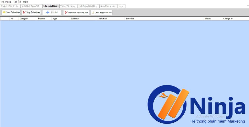 HD Lap lich dang bai 1 1024x523 Hướng dẫn lập lịch đăng bài Facebook với Phần mềm Ninja Care