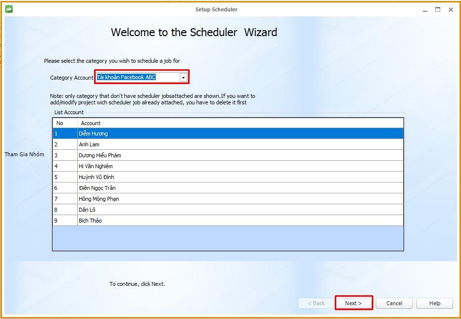 Lap lich dang bai 2 Hướng dẫn lập lịch đăng bài Facebook với Phần mềm Ninja Care