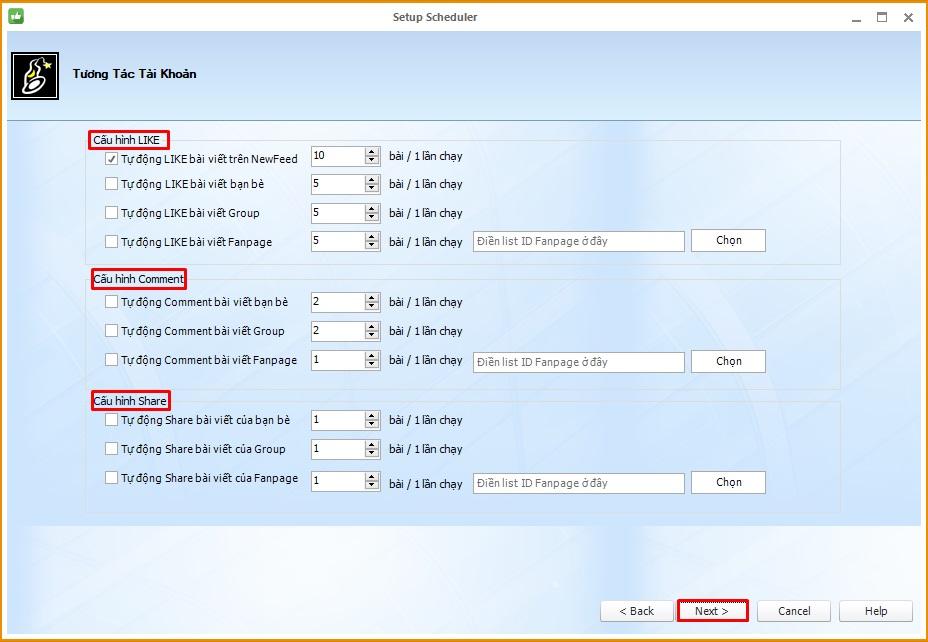 Lap lich dang bai 5 Hướng dẫn lập lịch đăng bài Facebook với Phần mềm Ninja Care