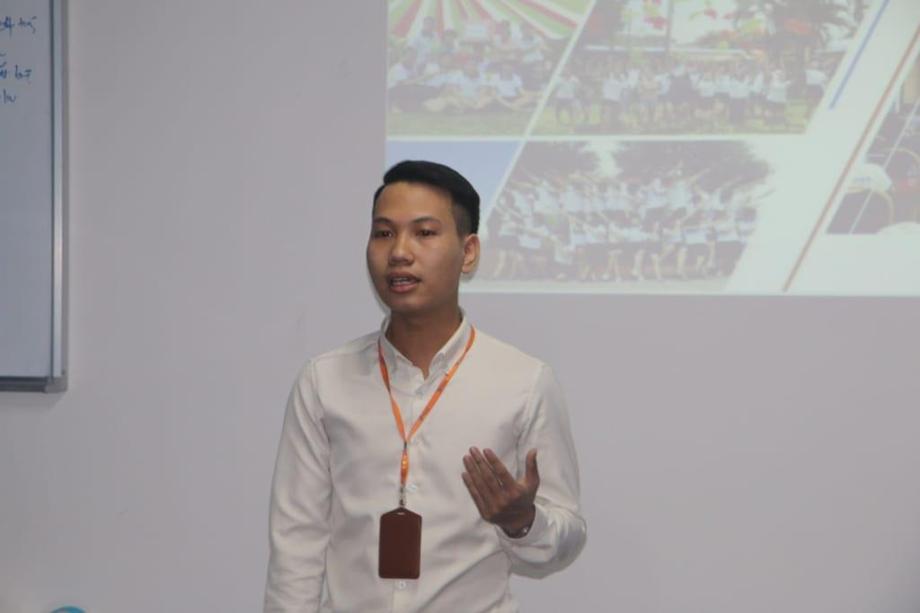 chiasekinhnghiem 1024x683 Chia sẻ Kỹ năng với tân sinh viên FPT Polytechnic trong buổi giao lưu tại Phần mềm Ninja