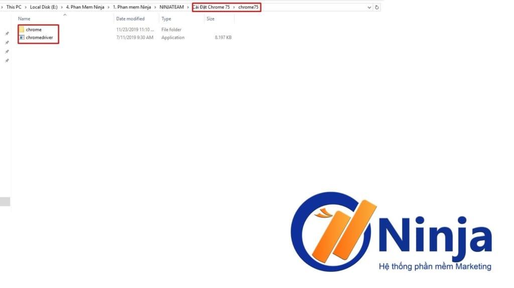 huong dan cau hinh chrome 1024x575 Hướng dẫn Cấu hình Chrome75 trên Phần mềm Ninja Care