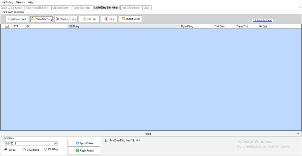 huong dan dang bai 1024x528 Ninja Care hướng dẫn lên lịch đăng bán hàng trên giao diện mới của phần mềm
