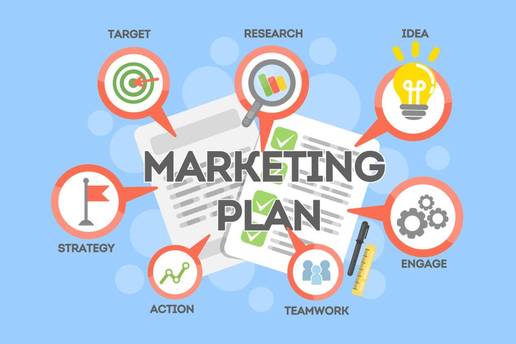 ke hoach marketing 1024x683 Lập chiến dịch Marketing online để bán hàng hiệu quả mùa Tết 2020