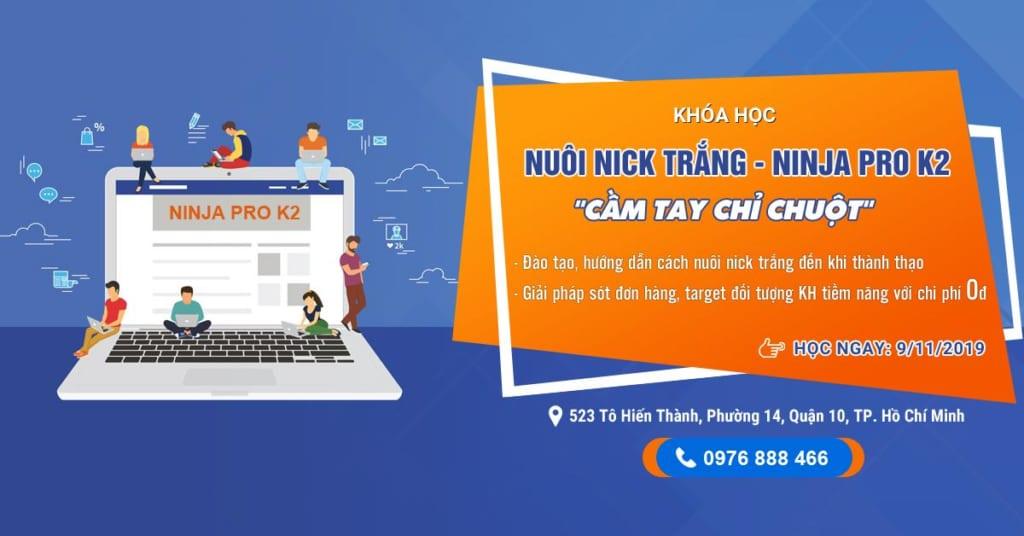 ninja pro k2 1024x536 Khóa Đào tạo Ninja Pro K2 tại Hồ Chí Minh đã sẵn sàng