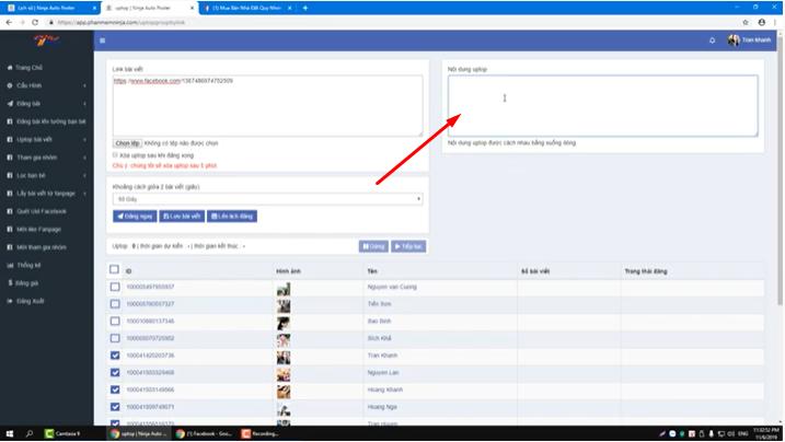noidunguptop Phần mềm Ninja Auto Post hướng dẫn Uptop bài viết New
