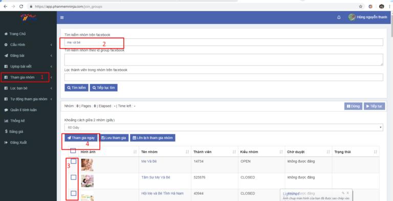 tham gia nhom ninja auto post1 Tham gia nhóm bán hàng Facebook cực chất với Ninja Auto Post