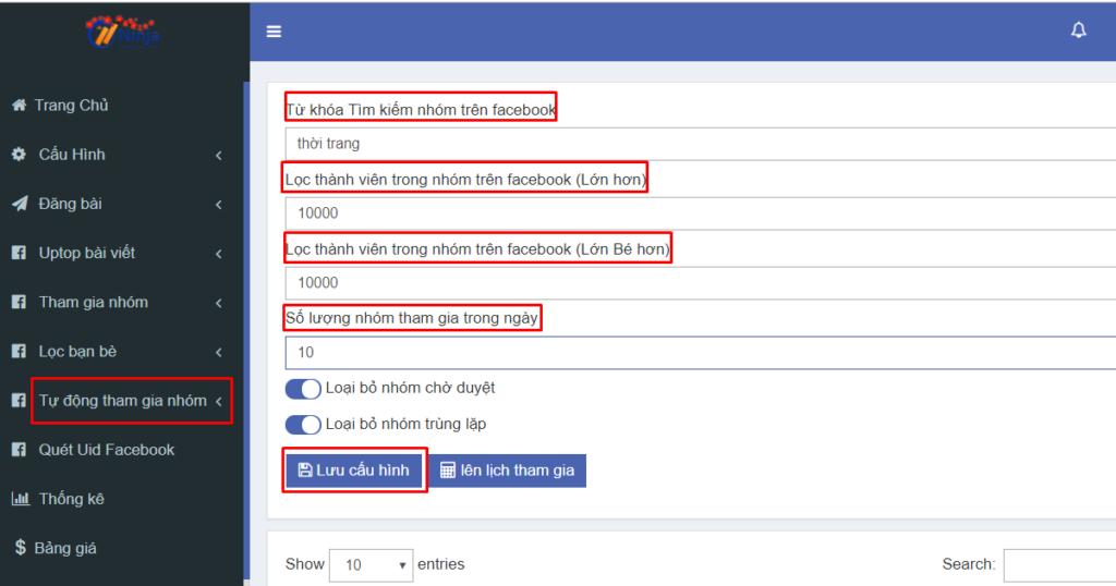tham gia nhom tu dong ninja auto post3 1024x538 Tham gia nhóm bán hàng Facebook cực chất với Ninja Auto Post