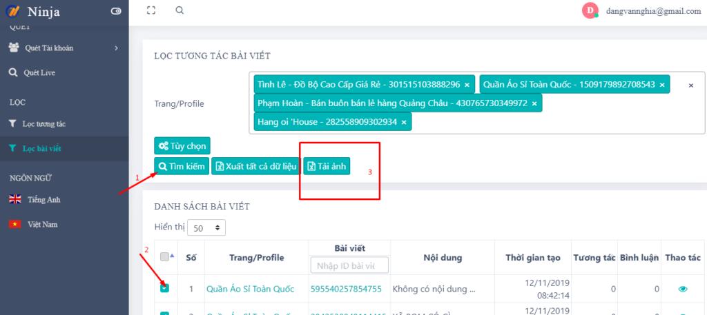 uid pro1 1024x457 Phần mềm UID Pro thêm chức năng xem ảnh, video của nhiều bài viết