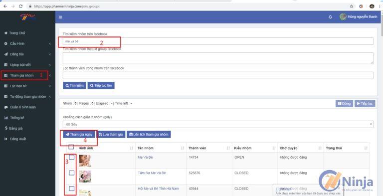1 1 Cách tìm nhóm Facebook chất lượng để bán hàng tết thành công