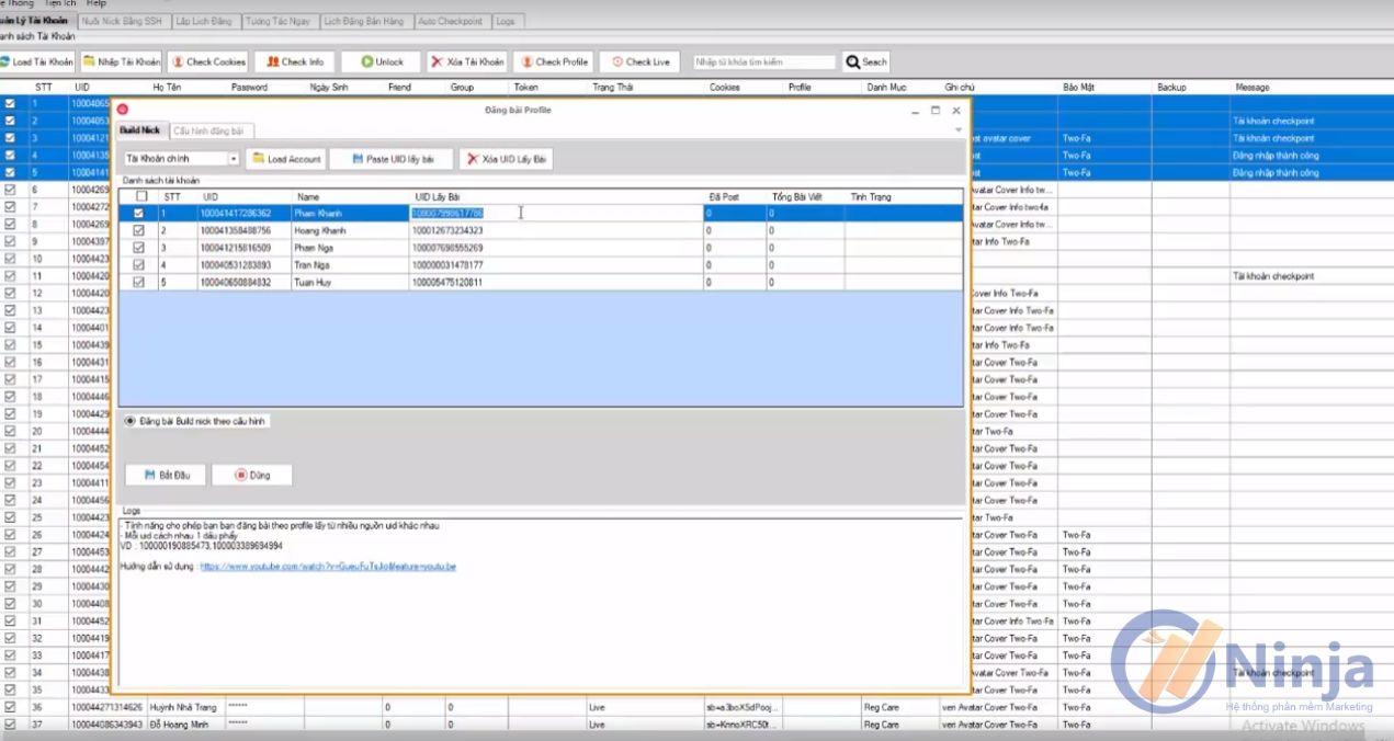 2 9 Ninja Care cập nhật phần mềm Ninja Care Version phiên bản 15.1