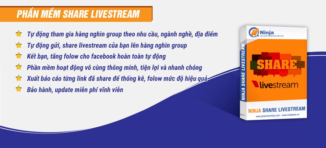 sharelive1 Dịch vụ Share Livestream Facebook chuyên nghiệp, hiệu quả nhất