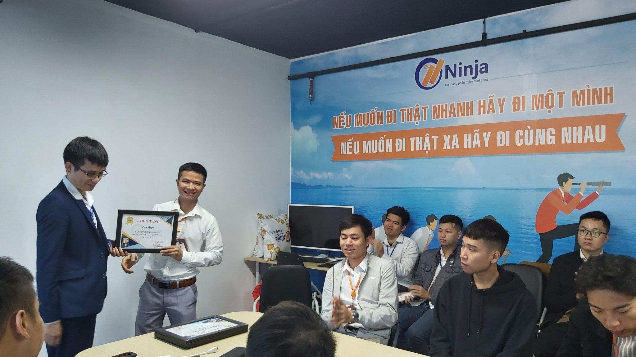 35ffa58d92c86a9633d9 Phần mềm Ninja: Vinh danh Nhân viên xuất sắc tháng 12.2019