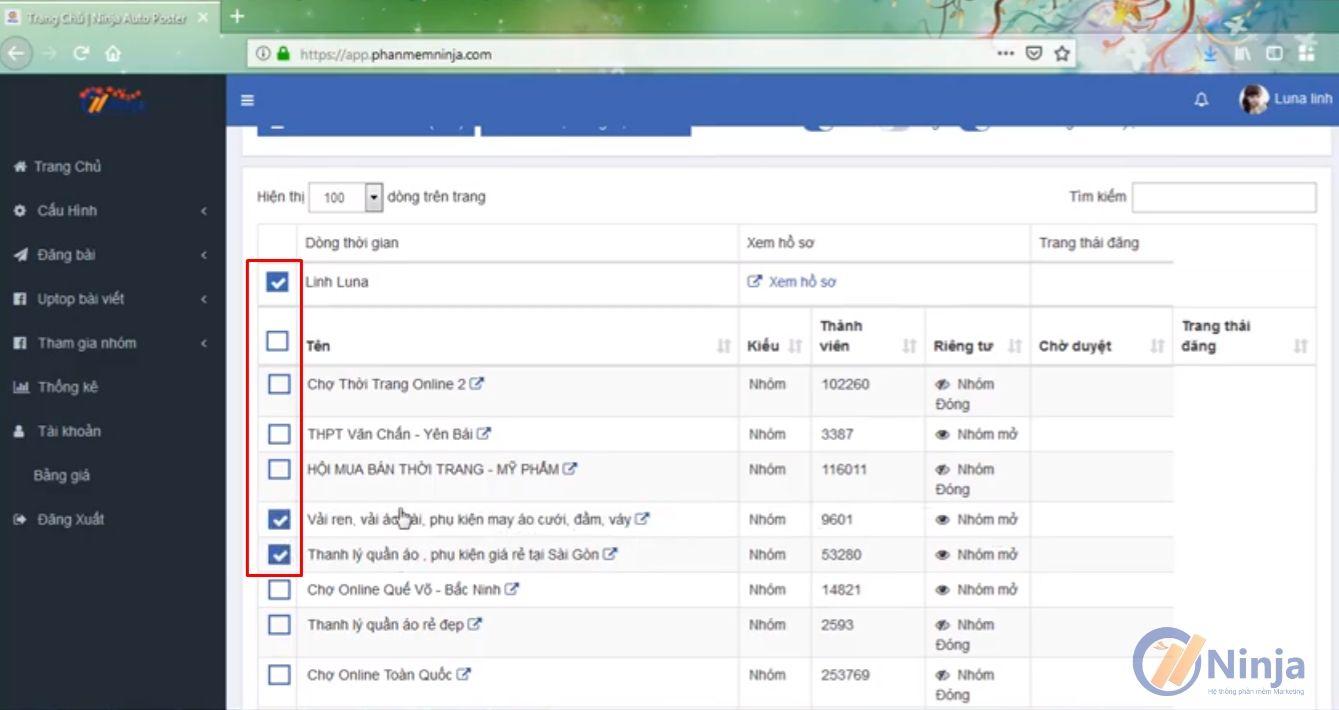 Thiết kế không tên 6 1 Top công cụ hỗ trợ bán hàng trên fanpage hiệu quả của phần mềm Ninja