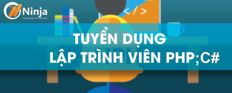 cb20533e0deff5b1acfe TIN TUYỂN DỤNG: Phần mềm Ninja tuyển dụng lập trình viên PHP; C#