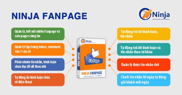 huong dan su dung phan mem ninjafanpage Lập chiến dịch Remaketing tiết kiệm chi phí nhân sự