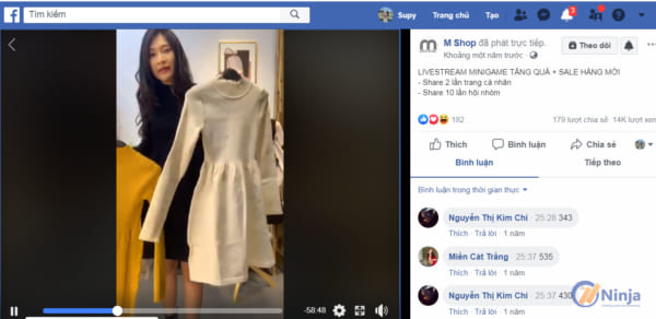 livestream e1625471194936 Cách livestream bán hàng trên facebook giúp tăng đơn dễ dàng
