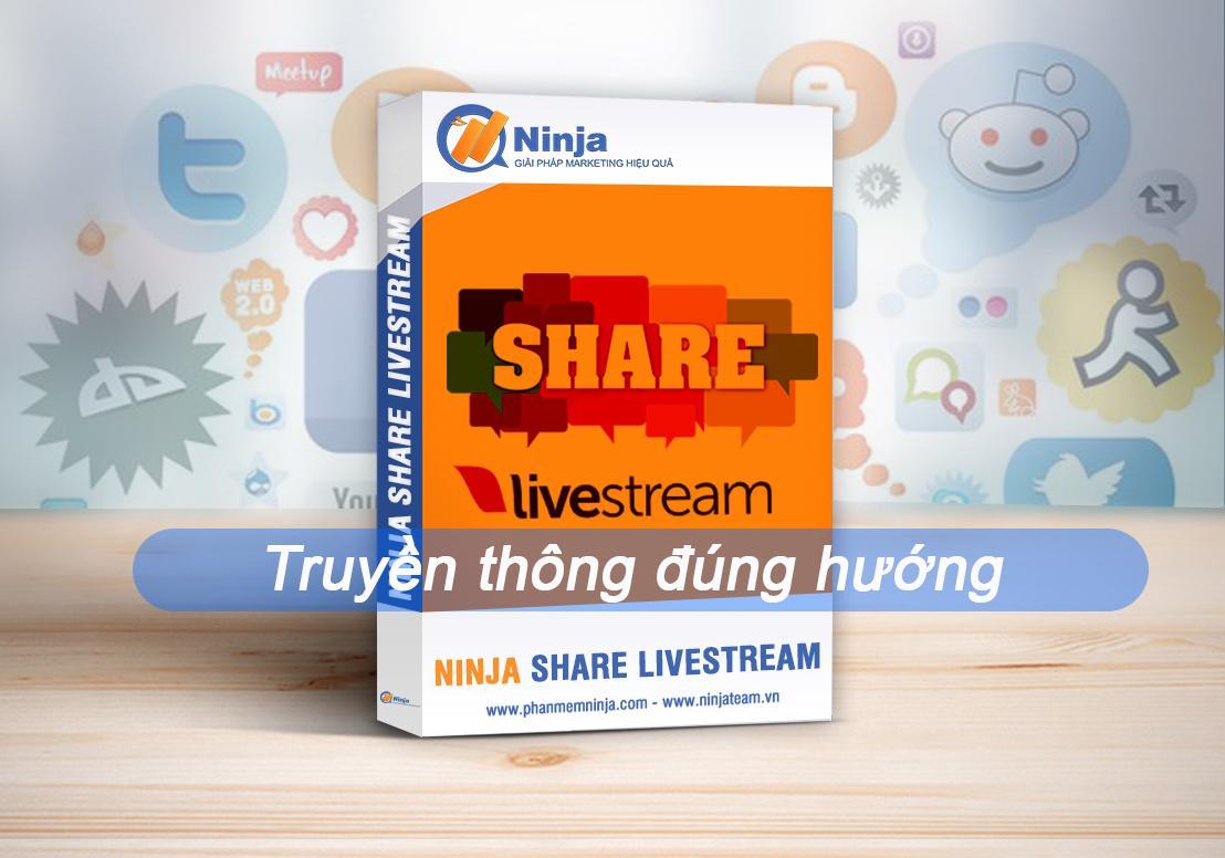 phan mem share livestream Truyền thông đúng hướng với phần mềm Share livestream Facebook