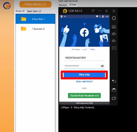 Screenshot 1 4 Hướng dẫn bật bảo mật 2 lớp nhanh chóng trên phần mềm Ninja System