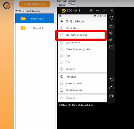 Screenshot 2 1 Hướng dẫn bật bảo mật 2 lớp nhanh chóng trên phần mềm Ninja System