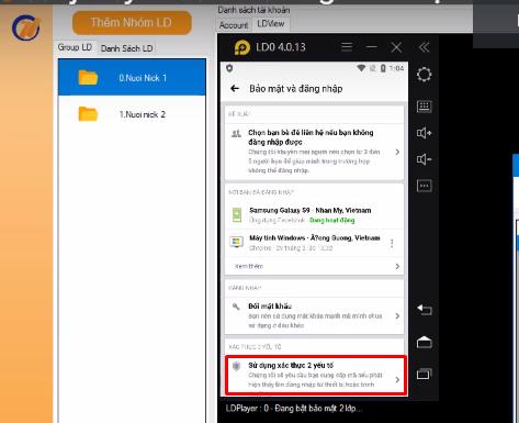 Screenshot 3 1 Hướng dẫn bật bảo mật 2 lớp nhanh chóng trên phần mềm Ninja System