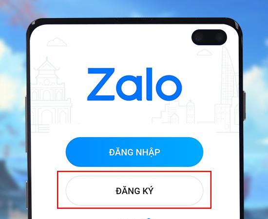 huong dan dang ky zalo tren dien thoai trong 2 phu buoc1 Hướng dẫn 4 bước tạo nick Zalo trên điện thoại nhanh chóng
