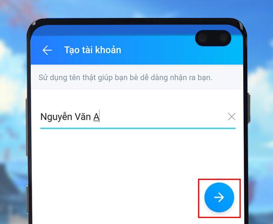huong dan dang ky zalo tren dien thoai trong 2 phu buoc2 Hướng dẫn 4 bước tạo nick Zalo trên điện thoại nhanh chóng