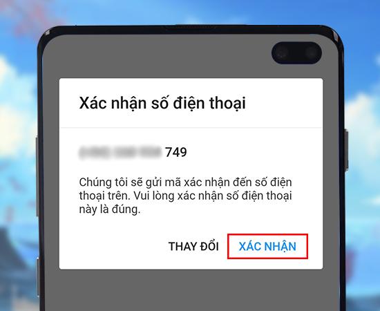 huong dan dang ky zalo tren dien thoai trong 2 phu buoc4 Hướng dẫn 4 bước tạo nick Zalo trên điện thoại nhanh chóng