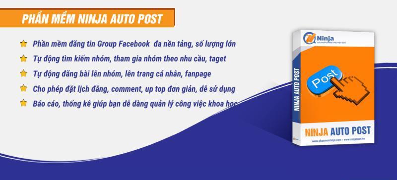 ninja auto post Phần mềm đăng bài tự động lên group có thực sự tiện ích?