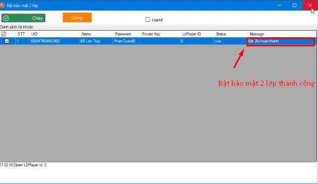 ninja system bao mat 2 lop6 Hướng dẫn bật bảo mật 2 lớp nhanh chóng trên phần mềm Ninja System