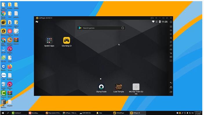 ninja system.giao dien Hướng dẫn cài đặt phiên bản mới ở phần mềm nuôi nick giả lập Ninja System V4